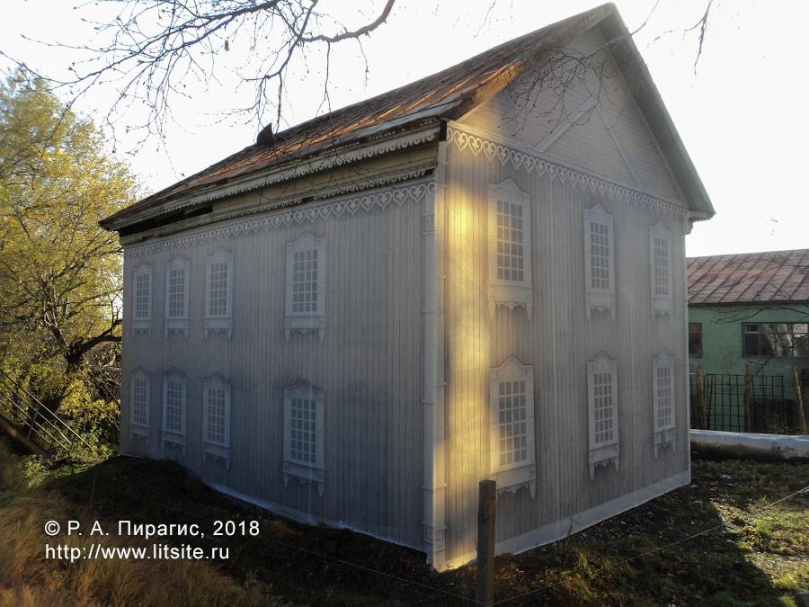 Дом купца Подпругина, закрытый саркофагом (улица Красинцев, 4)